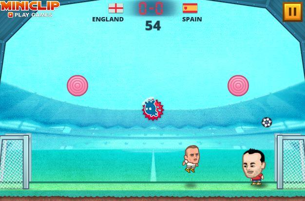 サッカーフラッシュゲーム