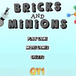 bricks and minions